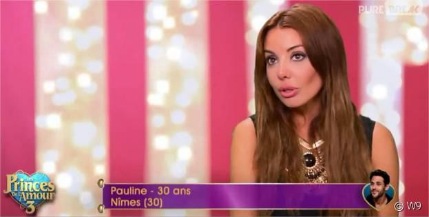 Pauline (Les Princes de l'amour 3) dans l'épisode du 14 décembre 2015 sur W9