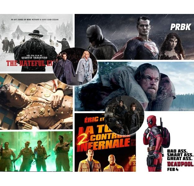 Les 8 salopards, Les Animaux Fantastiques, The Revenant, Batman v Superman... les films qu'on attend le plus en 2016