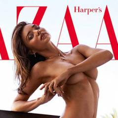 Miranda Kerr nue et sexy en couverture d'Harper's Bazaar : gros scandale en Australie