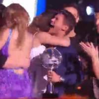 Rayane Bensetti et Denitsa Ikonomova complices pendant la finale de Danse avec les Stars 6