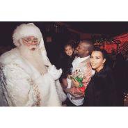 Kim Kardashian, Kanye West souriant, Kendall Jenner, Drake... L'incroyable Noël du clan Kardashian