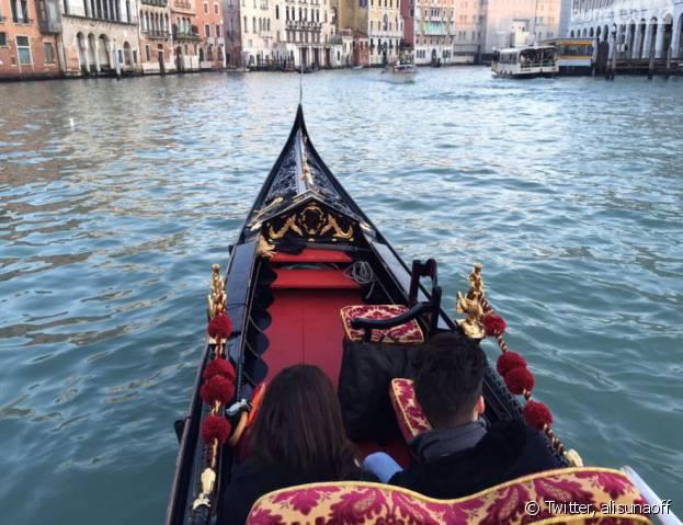 Ali et Alia (Secret Story 9) en vacances à Venise
