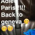 Nadège Lacroix et Nicolas (Friends Trip 2) en amoureux à Genève