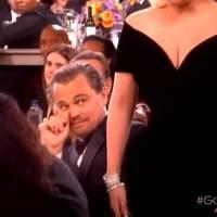 Lady Gaga fait flipper Leonardo DiCaprio aux Golden Globes 2016 : la vidéo à regarder en boucle