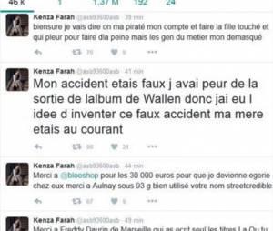 Kenza Farah : son compte Twitter piraté par son ex-mari ?