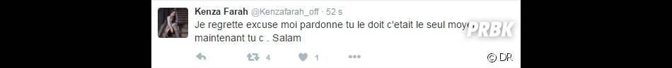 Kenza Farah : son compte Twitter piraté ?