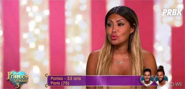 Parisa (Les Princes de l'amour 3) dans l'épisode du 13 janvier 2015 sur W9