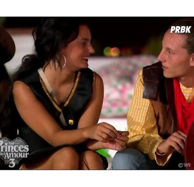 Eve et Djémil (Les Princes de l'amour 3) dans l'épisode du 13 janvier 2015 sur W9