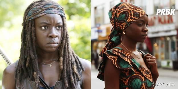 Danai Gurira dans The Walking Dead et Mother of George