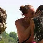 Djémil et Eve, un bisou catastrophique dans Les Princes de l'amour 3