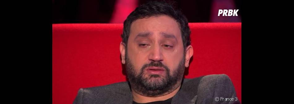 Cyril Hanouna en larmes dans l'émission Le Divan
