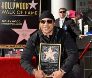 LL Cool J a reçu son étoile sur le Hollywood Boulevard le jeudi 21 janvier 2016 à Los Angeles