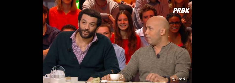 Eric et Ramzy talent Saint-Nazaire dans Le Petit Journal de Canal +, le 1er février 2016