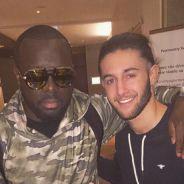 Tarek Benattia prend la pose avec Maître Gims sur Instagram