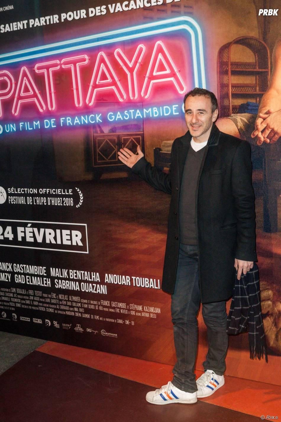 Elie Semoun à l'avant-première du film Pattaya au Gaumont Opéra à Paris le lundi 15 février 2016
