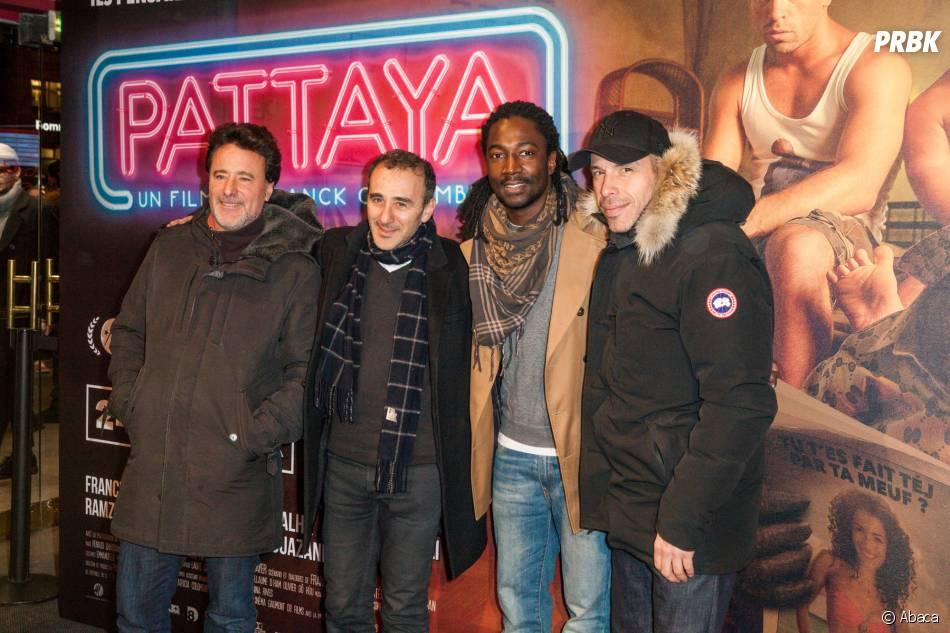 Défilé de stars à l'avant-première du film Pattaya au Gaumont Opéra à Paris le lundi 15 février 2016
