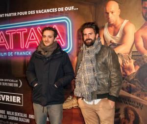 Le Palmashow à l'avant-première du film Pattaya au Gaumont Opéra à Paris le lundi 15 février 2016