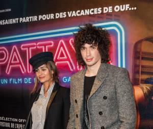 Julian Perrettaà l'avant-première du film Pattaya au Gaumont Opéra à Paris le lundi 15 février 2016
