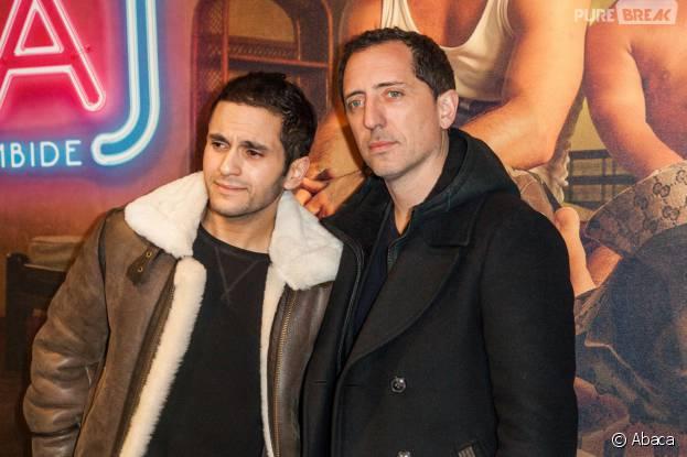 Malik Bentalhaet Gad Elmaleh à l'avant-première du film Pattaya au Gaumont Opéra à Paris le lundi 15 février 2016