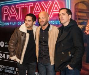 Le casting du film à l'avant-première du film Pattaya au Gaumont Opéra à Paris le lundi 15 février 2016