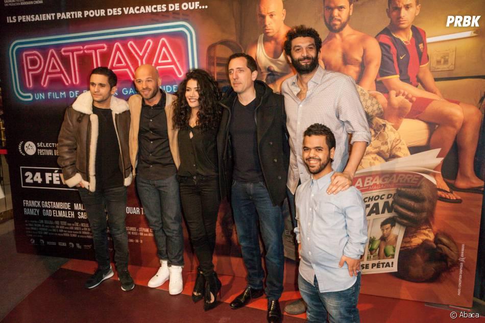 Le casting à l'avant-première du film Pattaya au Gaumont Opéra à Paris le lundi 15 février 2016