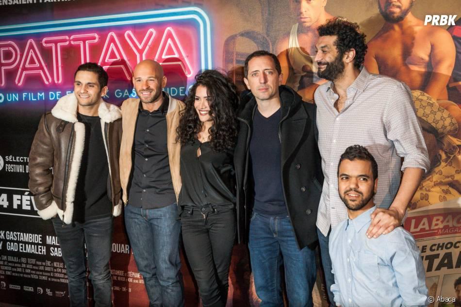 Les acteurs à l'avant-première du film Pattaya au Gaumont Opéra à Paris le lundi 15 février 2016
