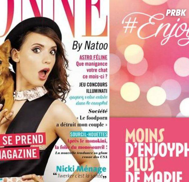 EnjoyPhoenix et Natoo : leurs livres dans le Top 20 des bouquins les plus lus en 2015