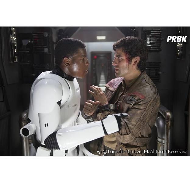 Star Wars : Finn et Poe dans Le Réveil de la Force