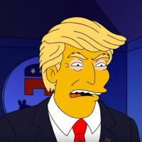 Les Simpson : Trump, Clinton... les candidats aux primaires US se battent et angoissent Marge