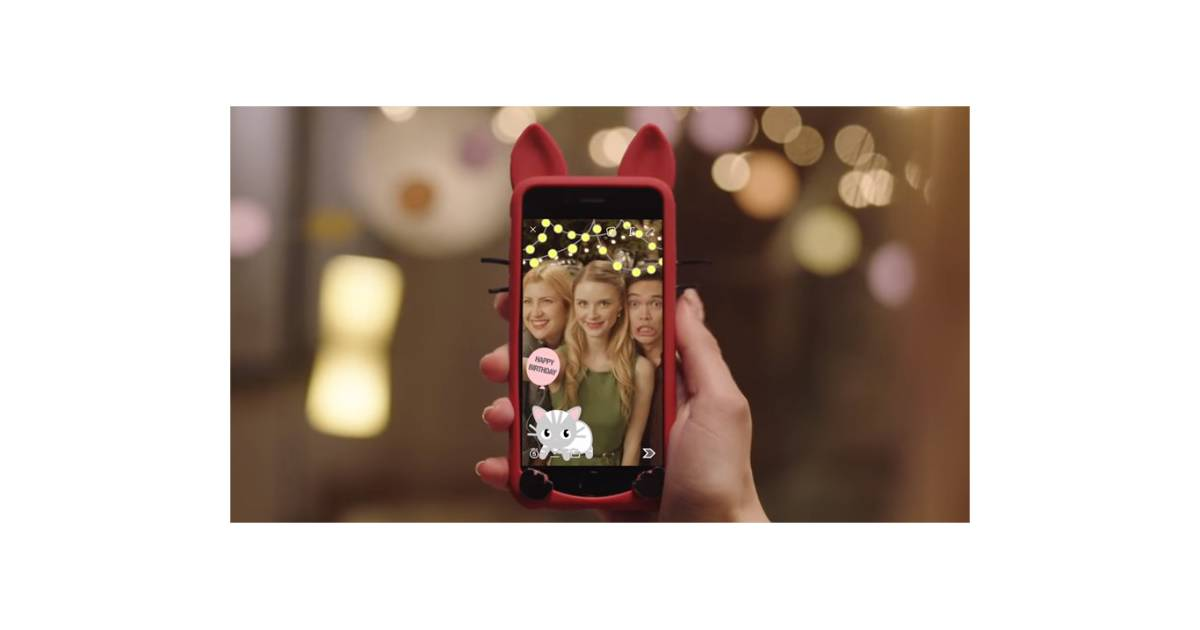 créer filtre snapchat
