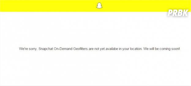 Snapchat : créer vos filtres personnalisés avec On-Demand Geofilters