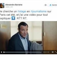"""Cyprien, Leonardo Di Caprio et Jean Dujardin """"soutiennent"""" une demande de stage géniale sur Twitter"""