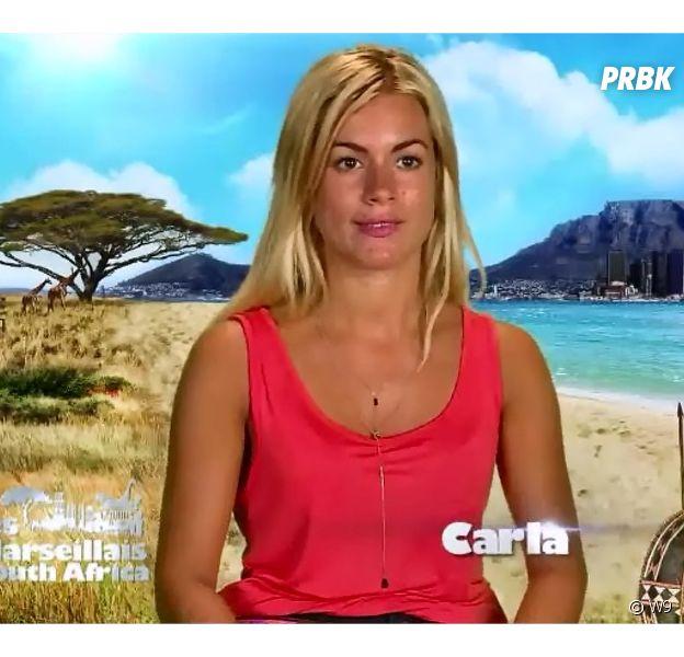 Carla (Les Marseillais South Africa) dans l'épisode du 26 février 2016 sur W9