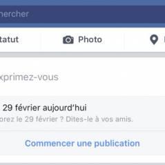 """Facebook : """"Nous adorez le 29 février"""", le fail qui fait marrer Twitter"""