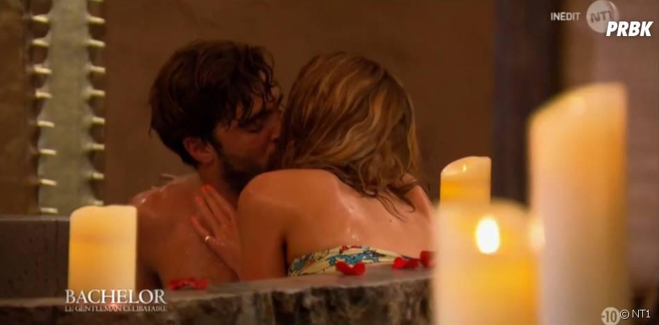 Le Bachelor 2016 : Marco et Diane s'embrassent langourouseument