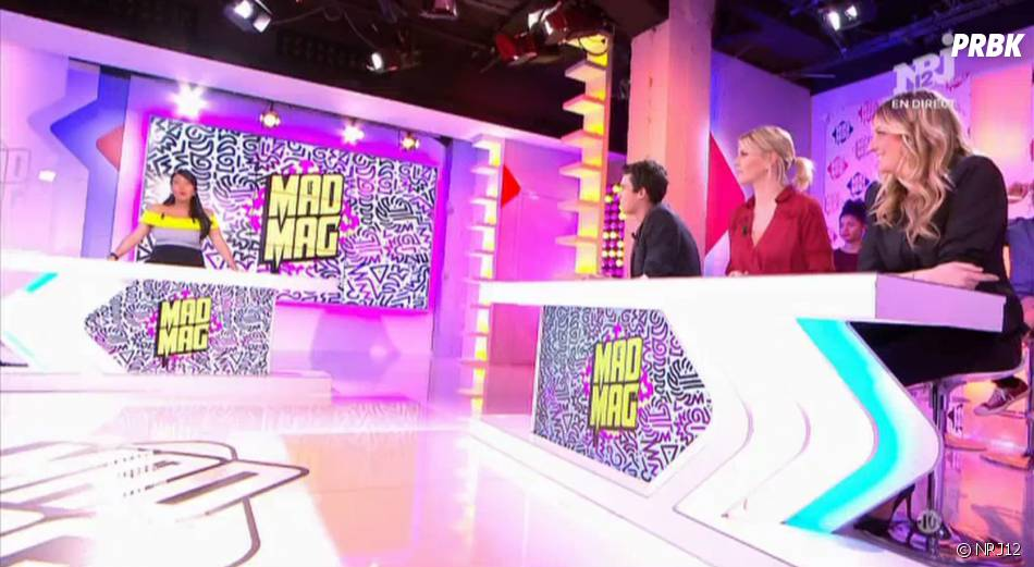 Capucine Anav toujours absente du Mad Mag