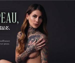 Fanny Maurer (Secret Story 6) nue pour PETA