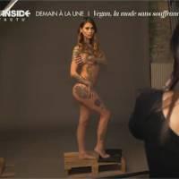 Fanny Maurer (Secret Story 6) nue pour PETA : la vidéo des coulisses de son photoshoot