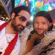 Cyril Hanouna en Elvis, Camille Combal en caleçon... nouvelles photos de leur mariage à Las Vegas