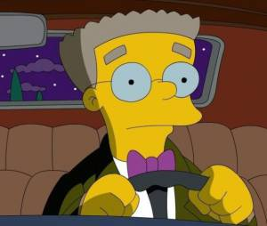 Les Simpson saison 27 : Smithers fait son coming out