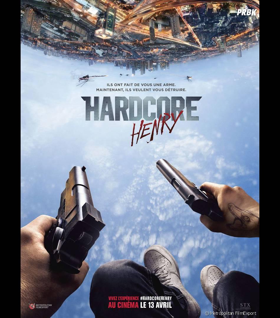 Hardcore Henry : l'affiche du film