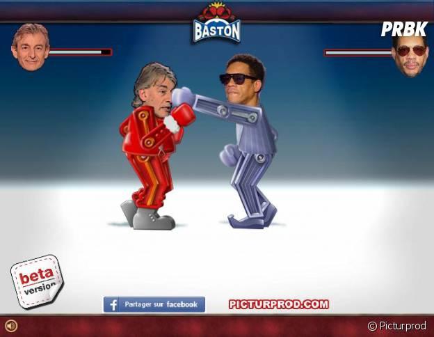 Joeystarr VS Gilles Verdez le jeu de bagarre