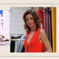 Les Reines du shopping : une candidate essaie une combi moulante, Cristina Cordula sous le choc