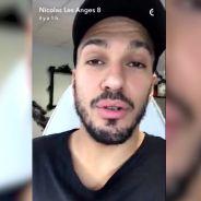 Nicolas (Les Anges 8) se fait tatouer en direct sur Snapchat