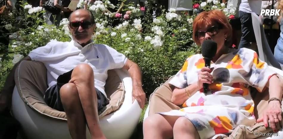 Marion Game et Gérard Hernandez (Scènes de ménage), drôles et touchants.