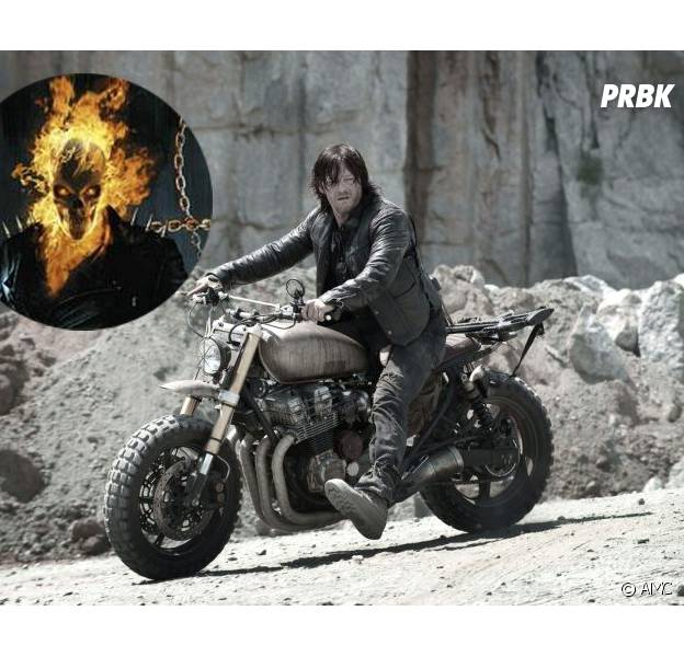 The Walking Dead : Norman Reedus, futur Ghost Rider ?