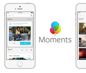 Facebook vous force à télécharger l'application Moments... sinon vos photos disparaitront.
