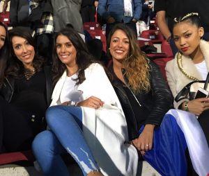 Adil Rami (Euro 2016) : sa femme Sidonie Biémont en compagnie des autres WAG