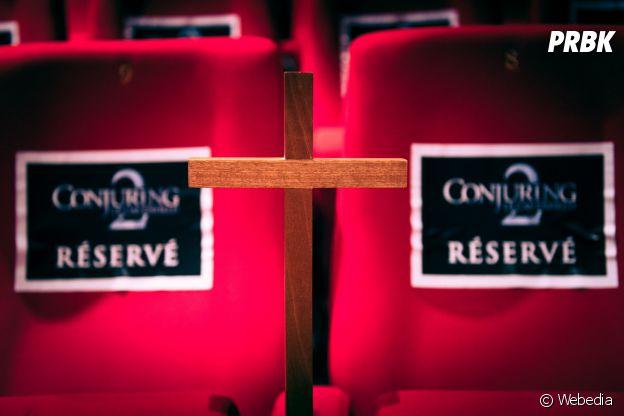 Projection privée de Conjuring 2 le 14 juin 2016 au Gaumont Opéra.