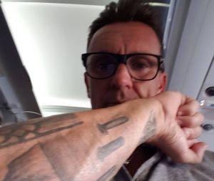 Pascal dévoile son nouveau tatouage